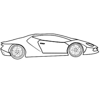 Easy-Lamborghini-Coloring-Bookz