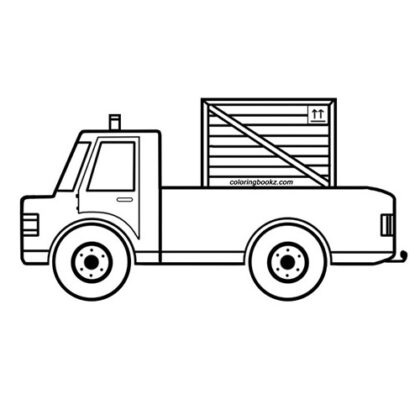 Easy Truck Coloring Bookz