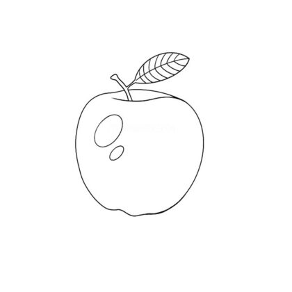 Apple Coloring Book