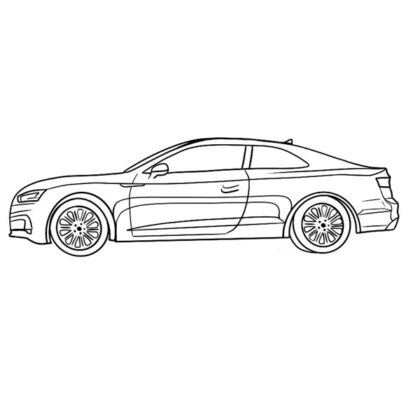 Audi a5 Coloring Page Coloring Book