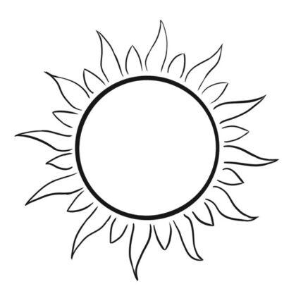 Sun Coloring book