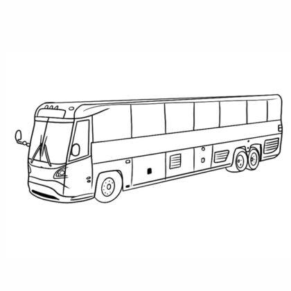 Bus Coloring book