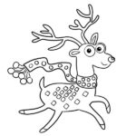 Rudolph Coloring Page