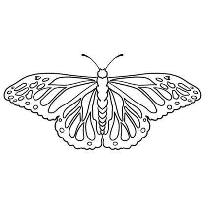 Free Printable Butterfly Coloring Book