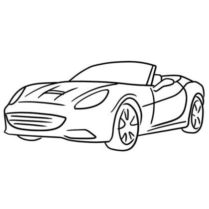 Ferrari California Coloring Book