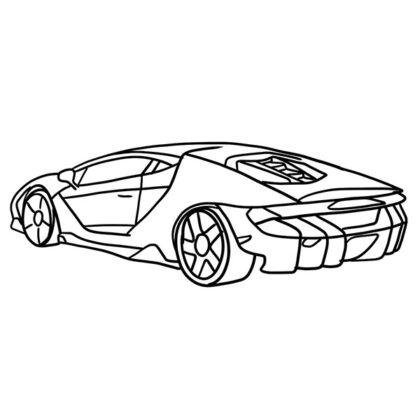 Lamborghini Centenario Coloring Book