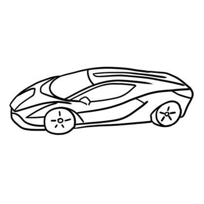 Lamborghini Sian Coloring Book